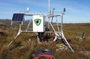 Parks Tas installs new weather stations