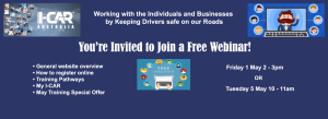 Free webinars from I-CAR in May
