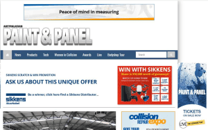Record breaking month for Paint & Panel website