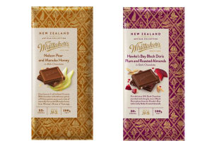 Whittaker's expands range, rolls out into Coles