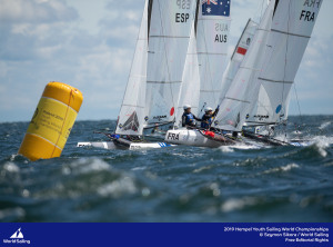 Youth Worlds: Cooley and Hancock win Nacra 15 Gold – other Aussies in contention