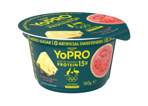 Danone's Olympic yoghurt packs go for gold