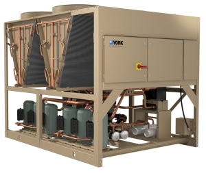JCI expands line of air-cooled chillers