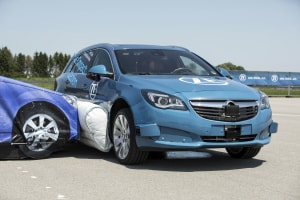 ZF demonstrates first external side airbag