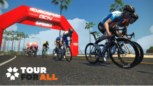 Zwift Tour For All: Virtual Pro Stage Race On This Week
