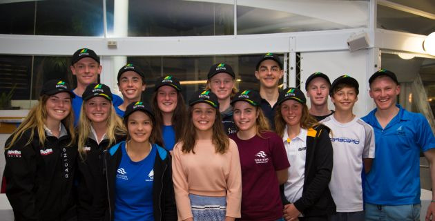 Australian Sailing Youth Team announced to compete at the 2016 Youth Sailing World Championship ...