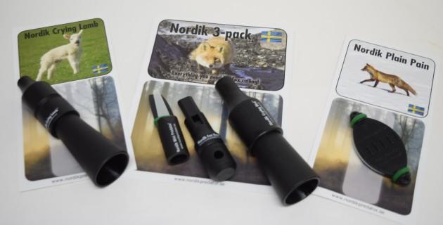 Nordik Predator 3 Pack Fox Callers