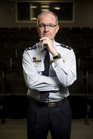The new Chief Joint Capability AVM Warren McDonald. Credit: Defence