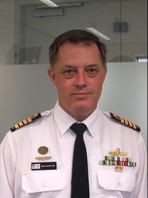 Director RAN Sea Power Centre CAPT Michael McArthur