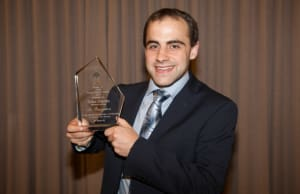 Aidan Depetro from BMT Design & Technology was announced as the national winner of the 2014 AIDN Young Achiever Award.