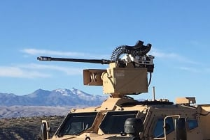 EOS' new R-400S-Mk2 weapon system has been in low volume production for more than 12 months for another customer, with more than 70 units completed and shipped. Credit: EOS