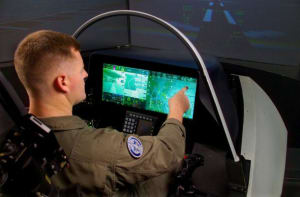 LVC is more than just simulators, though they have a role to play. Credit: Lockheed Martin