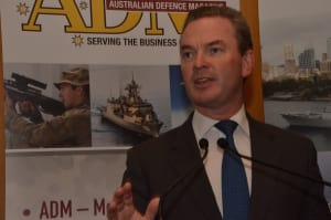 Minister for Defence Industry Christopher Pyne. Credit: ADM David Jones