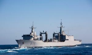 Under Sea 1654 Phase 4 the RAN will receive two replenishment ships modeled closely on the design of the SPS Cantabria in Spanish Armada service. Credit: Defence