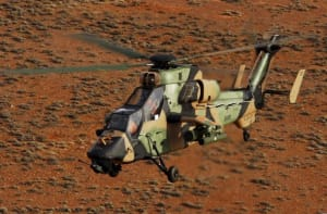 "The study will allow the Tiger-operating nations to choose which combinations of equipment, functions, performances and architectures should be selected for the future development phase"" of the Tiger helicopter. Credit: Defence"