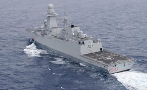 Italian FREMM class ASW frigate Carabiniere will visit Adelaide between 5-10 February. Credit: Marina Militare