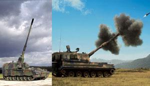 The PZH2000, from KMW in consultation with BAE Systems, and the Raytheon Australia/Samsung Techwin AS-9 are in the running for Land 17 artillery replacement program.