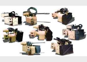 EOS Defence Remote Weapons System products. Credit: EOS