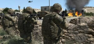 VBS3 is the flagship of the US Army's Games for Training program of record. Credit: BISim