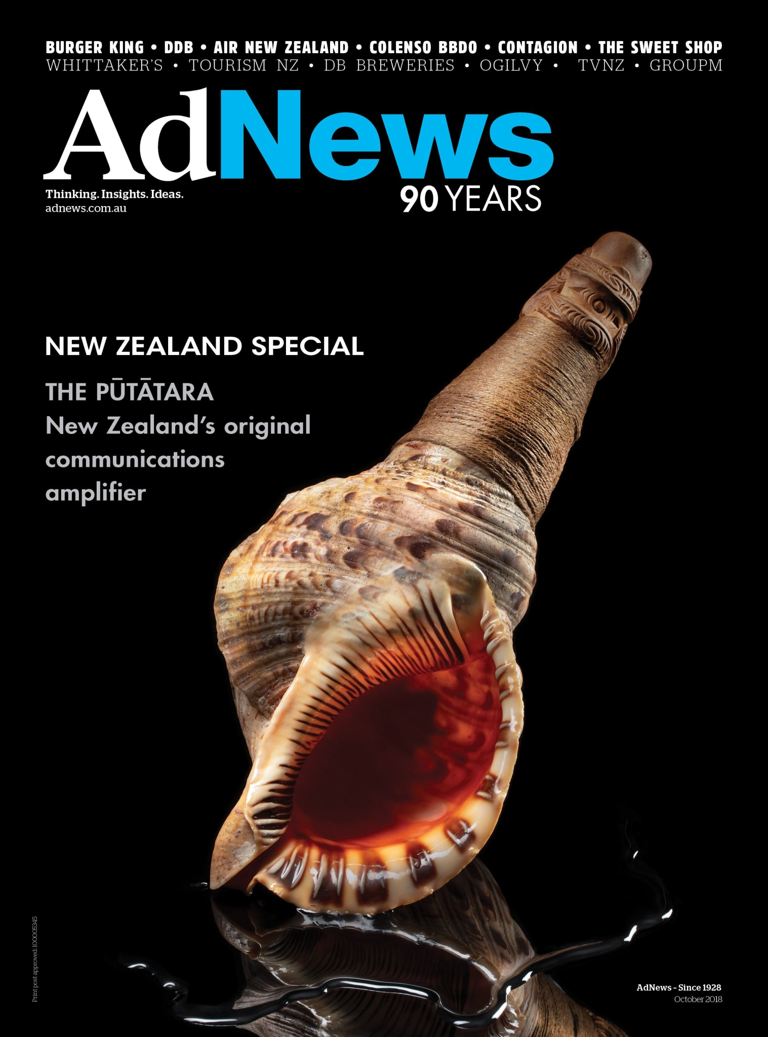 AdNews October 2018 Cover