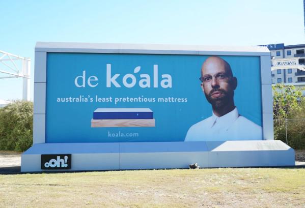 Koala Mattresses Takes Swipe At Ikea With Cheeky Billboard Adnews