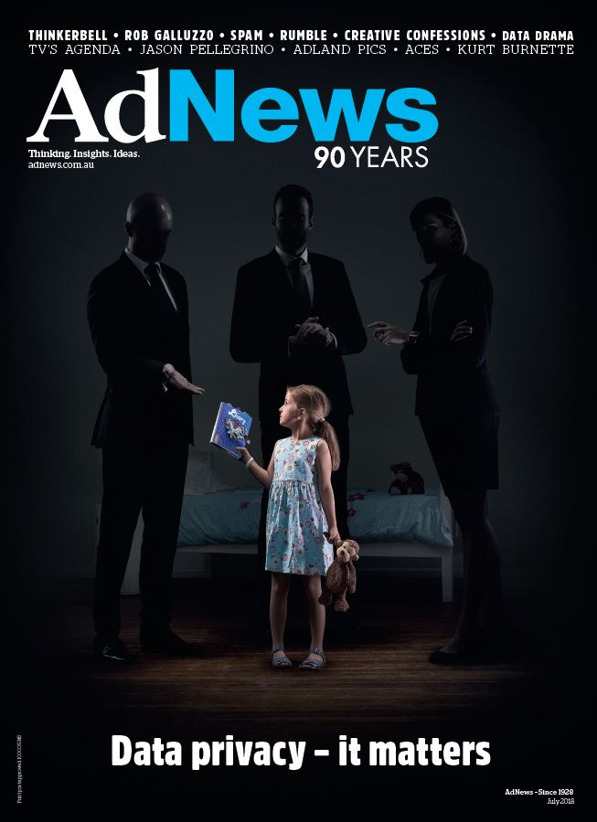The data privacy issue: The Royals create AdNews July 2018 front cover