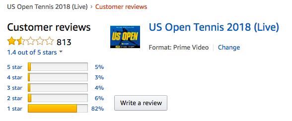e377532d0a782 Tennis fans slam Amazon s US Open coverage - AdNews
