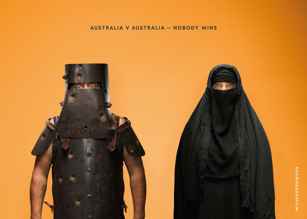 the monkeys launches controversial ads for cronulla riots film