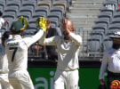 Seven scores with the test cricket on Sunday