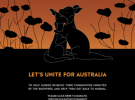 The International Advertising Association's bushfire appeal ad