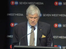 Kerry Stokes takes jab at Nine/Fairfax merger