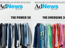 Power 50 and Emerging 30 - Saatchi & Saatchi design AdNews September covers