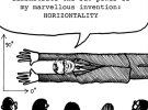 AdNews Illustration: Meet the amazing horizontal man