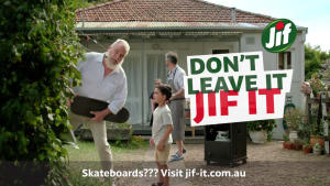 Unilever's Jif is back to end BBQ neglect
