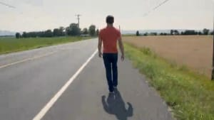 Guy walks across America