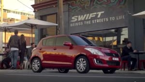 Suzuki Swift brings Melbourne to life