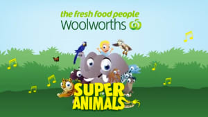 Woolies animal cards make kids crazy