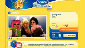 Sorbent Sing for Daffodil Day