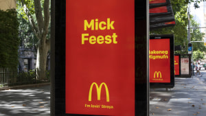 Macca's celebrates Australia's unique slang in outdoor push