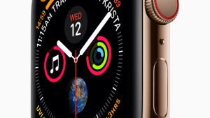 Clones front Apple ad for new watch