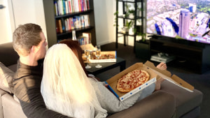 Domino's helps 100 Australian couples say 'I dough'