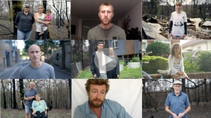 Dear Scotty: a message from Australian celebrities and bushfire survivors