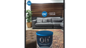 The Idea Shed brings augmented reality to toddler milk drink Oli6