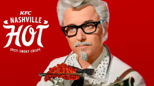 Mad Men star fronts KFC campaign