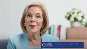 Ita Buttrose makes a plea to older Australians