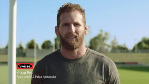 All Blacks captain Kieran Read stars in Swisse campaign