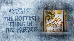 McCain's Oh My Veg! is bringing something hot to the freezer aisle