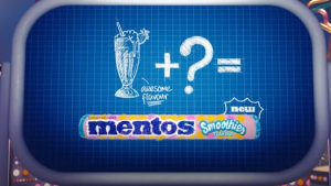 Mentos reveals part of their formula in new brand work