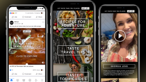Havas Melbourne encourages people to travel through food