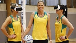 Samsung launches VR experience to build support for Diamonds netball team